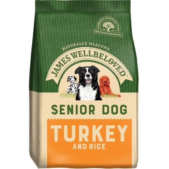 J/w senior  turkey & rice